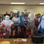 2015 haunted open house second hand harvest food bank give back - Bart Durham