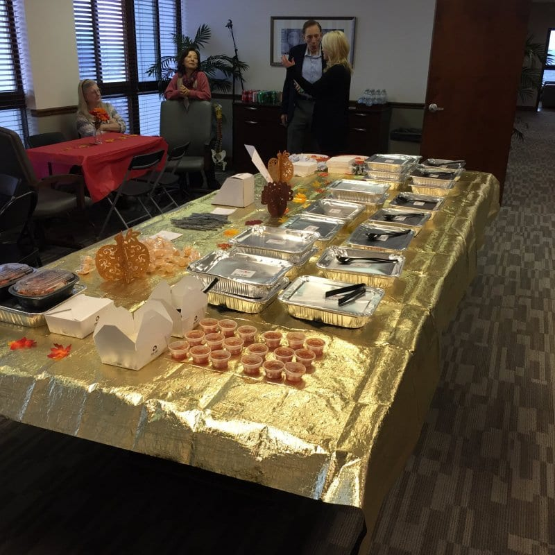 Friendsgiving Meal at the Office of Bart Durham in Nashville